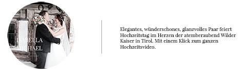 Hochzeitsvideo Tirol Traumhochzeit Cc